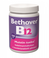 BETHOVER 1 MG B12-VITAMIINI 150 TABL