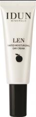 IDUN Len sävyttävä päivävoide Light/Medium  50 ml