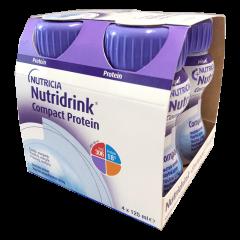 NUTRIDRINK COMPACT PROTEIN NEUTRAALIN MAKUINEN 4x125 ml