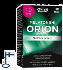 MELATONIINI ORION 1,9 MG NIELTÄVÄ 30 TABL