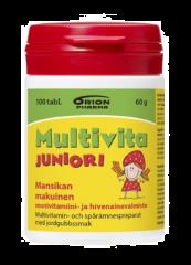 MULTIVITA JUNIORI MANSIKKA MONIVITAMIINI 100 PURUTABL