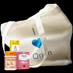 *Keräilykampanjan kaupanpäällinen: Orionin tuotekassi